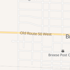 Directions for Hardee's Restaurant in Breese, IL 220 Old Route 50 W
