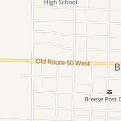 Directions for Knotty Pine Inn & Motel in Breese, IL 215 N 4th St
