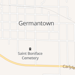 Directions for Cornerstone Tavern in Germantown, IL 200 Munster St
