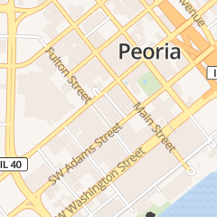 Directions for American Pest Control in Peoria, IL 320 Fulton St