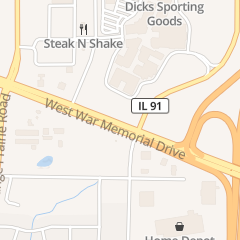 Directions for Yankee Candle in Peoria, IL 5201 W War Memorial Dr Ste 460