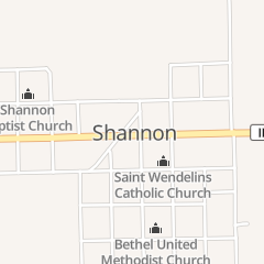 Directions for Jerod's Bar & Grill in Shannon, IL 10 W Market St