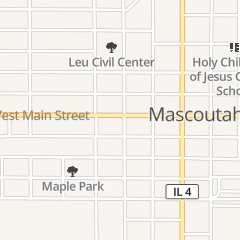 Directions for Nite Deposit in Mascoutah, IL 28 E Main St