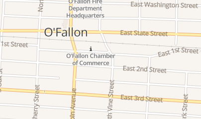 Directions for Outdoorsmen Lounge in O Fallon, IL 127 E 1st St