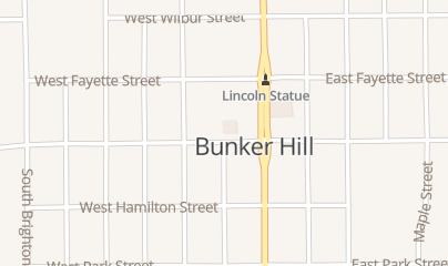 Directions for Bunkhouse in Bunker Hill, IL 201 W Warren St