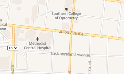 Directions for Midtown CPR in Memphis, TN 1331 Union Ave