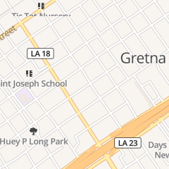 Directions for 10th Street Cafe in Gretna, LA 423 10th St