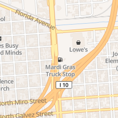 Directions for Mardi Gras Truck Stop in New Orleans, LA 2411 Elysian Fields Ave