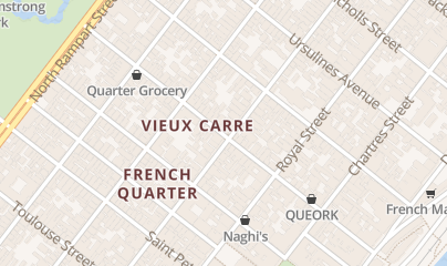 Directions for Cafe Lafitte in Exile in New Orleans, LA 901 Bourbon St