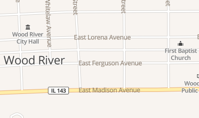 Directions for River Bend Bounce in Wood River, IL 145 E Ferguson Ave