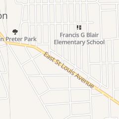Directions for The Salad Shop in East Alton, IL 217 E Saint Louis Ave
