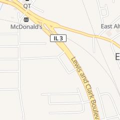 Directions for Julia's Banquet Center in East Alton, IL 101 Eastgate Plz