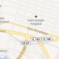 Directions for Riverbend Billiards & Grill Inc. in Alton, IL 909 E Broadway