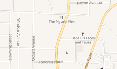 Directions for The Pig & Pint in Jackson, MS 3139 N State St