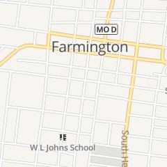 Directions for Farmimgton in Farmington, MO 110 W 1st St