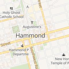 Directions for The Brown Door in Hammond, LA 124 N Cate St
