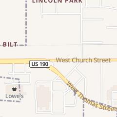 Directions for SUSIE Q'S in Hammond, LA 2804 W Church St