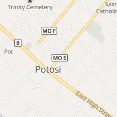 Directions for Sweet Memories Sandwich Shop in Potosi, MO 105 W Breton St