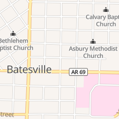 Directions for Dr Aubrey S Joseph Doctor in Batesville, AR 1490 Byers St