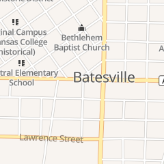 Directions for Dustin Taylor Chiropractor in Batesville, AR 920 Harrison St