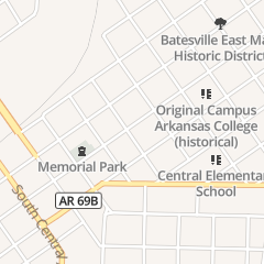 Directions for Denver Roller Inc Roller Crouch in Batesville, AR 510 E College St