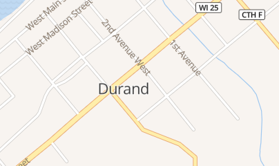 Directions for Handy Mart in Durand, WI 203 W Prospect St