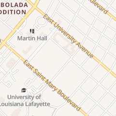 Directions for University of Louisiana at Lafayette in Lafayette, LA 600 McKinley St