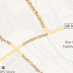 Directions for Cosmetology Training Center in Lafayette, LA 2516 Johnston St