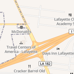 Directions for Cracker Barrel Old Country Store in Lafayette, LA 1700 N University Ave