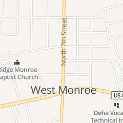 Directions for City of West Monroe in West Monroe, LA 2303 n 7th St