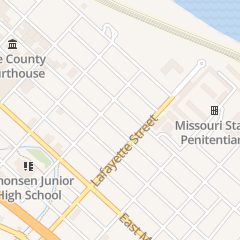 Directions for MCINTOSH AUDREY HANSON in Jefferson City, MO 612 E Capitol Ave