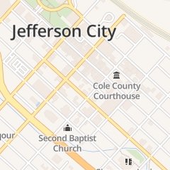Directions for Chief Disciplinary Counsel in Jefferson City, MO 217 E Mccarty St