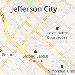 Directions for Angoff Jay in Jefferson City, MO 216 E McCarty St