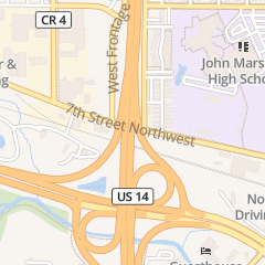 Directions for Bright-Eyed Computer in Rochester, MN 1312 7th St Nw Ste 101