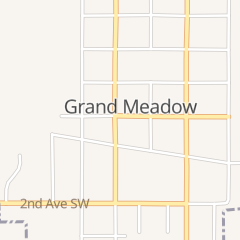 Directions for City of Grand Meadow - City Hall in Grand Meadow, MN 112 Grand Ave E