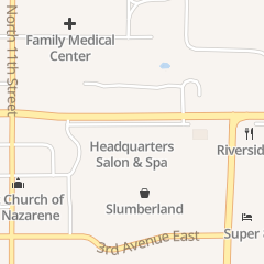 Directions for Headquarters Hair Studio in Oskaloosa, IA 1506 A Ave E
