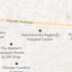 Directions for Brittain Law Firm in Natchitoches, LA 111 E 5th St