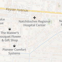 Directions for Brittain & Sylvester in Natchitoches, LA 113 E 5th St