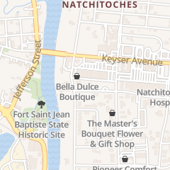 Directions for Bright Beginnings in Natchitoches, LA 102 Bienville St