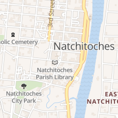Directions for FIRST BAPTIST CHURCH in NATCHITOCHES, la 508 2ND ST