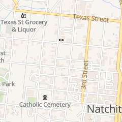 Directions for Church in Natchitoches, LA 815 5th St