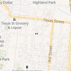 Directions for Saint Anthony Catholic Church in Natchitoches, LA 901 5th St