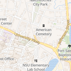 Directions for Holy Cross Church in Natchitoches, LA 129 2nd St