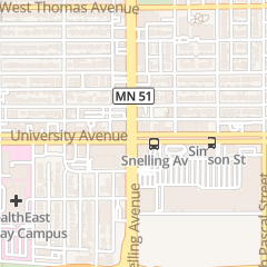 Directions for Midway Books in Saint Paul, MN 1579 University Ave W