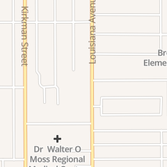 Directions for Shadowood Apartments in Lake Charles, LA 1045 Walters St