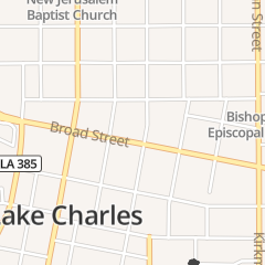 Directions for Kykz 96.1 Swla's Country Leader in Lake Charles, LA 425 Broad St