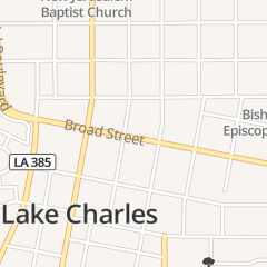 Directions for Kbiu B104 in Lake Charles, LA 425 Broad St