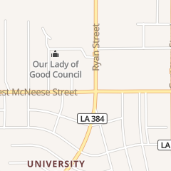 Directions for Burger King in Lake Charles, LA 108 W McNeese St