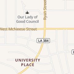 Directions for Subway Sandwiches & Salads in Lake Charles, LA 125 W McNeese St