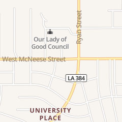 Directions for Subway in Lake Charles, LA 125 W Mcneese St
